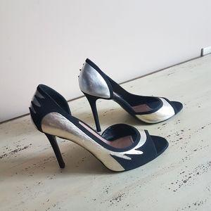 ❤Laurence Dacade Paris👠 open toe pumps